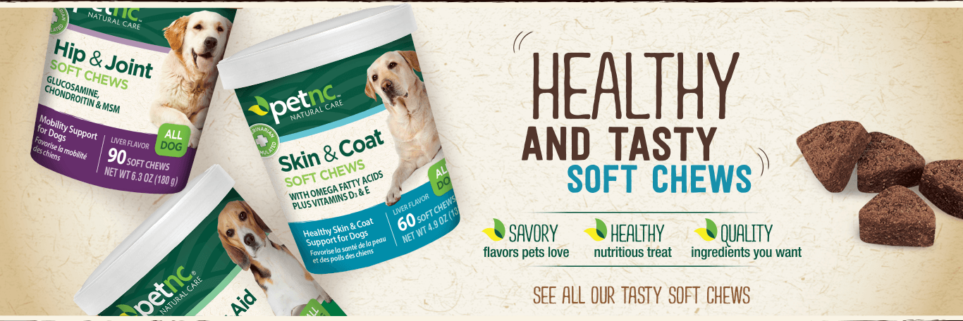 PetNC Soft Chews for Dogs